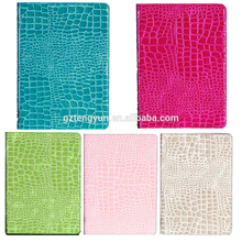 High quality Croco pattern ultra slim leather case for ipad mini 2/3 from China manufacture