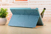 [Wholesale]Five circles image leather case for ipad mini/ipad air#A1074 /Ship within 24-48hours, moq 1piece