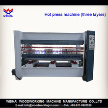 120 ton hydraulic hot press machine for door 3 layers