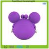 Cute Mickey shape silicone change purse/silicone coin purse