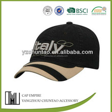 Sedex factory embroidered italy mens baseball cap