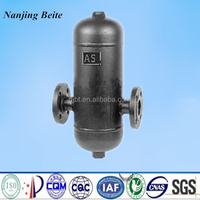 carbon steel steam water separator for removing liquid/solid from steam
