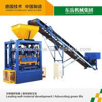 Insulated concrete hollow block machine made in China/ breeze block algeria/cement brick making machine QT4-24