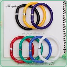 2015 Novelty wristband pen flexible bracelet Pen with coloful bead