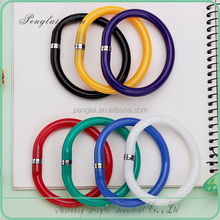 Novelty wristband pen flexible bracelet Pen with coloful bead