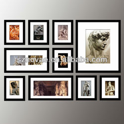 10P Set Wooden Wall Picture Photo Frame