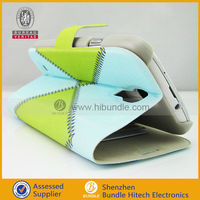 Wallet case pouch galaxy s4 fit , leather flip case for samsung galaxy note i9500