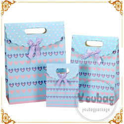 Cheap new design custom logo printed paper bags with great price