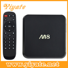 Superior Materials & Reliable Performance Quad core 4k m8 android 4.4 android tv box
