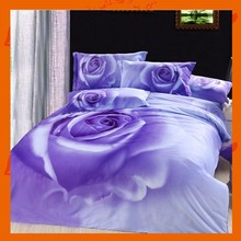 Fashion 3D fabric painting designs bed sheets wholesale