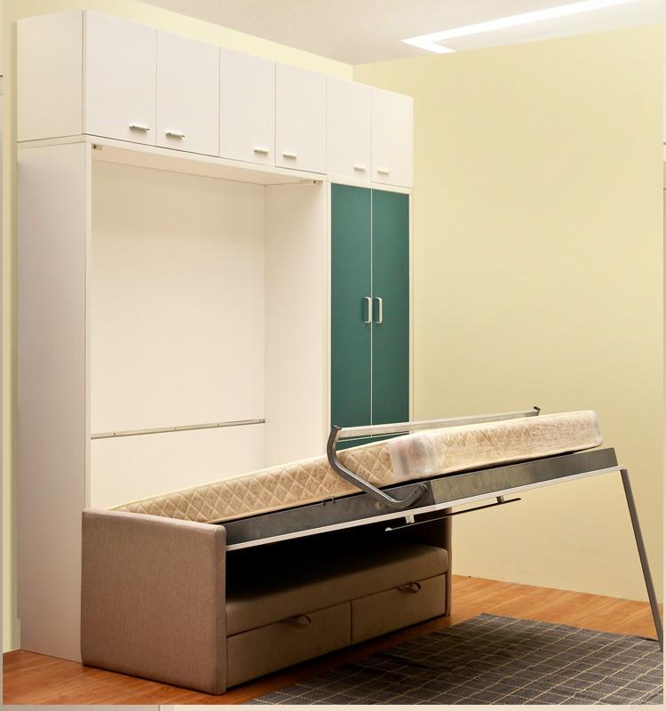 sparen kosten moderne schlafzimmer klappbett versteckte wandbett mit sofa bett produkt id. Black Bedroom Furniture Sets. Home Design Ideas
