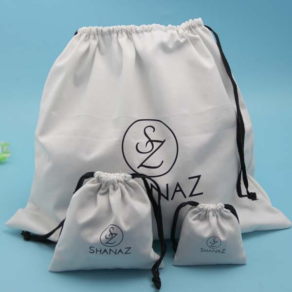 wholesale lowest price shoe bag cotton dust bag for handbag from Shenzhen bags factory