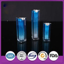 Fresh and Elegant Plastic Acrylic Vacuum Airless Bottle for Cosmetic packaging