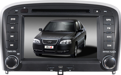 Chery Fulwin car dvd gps for 2 din chery wince car