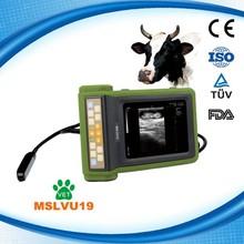 MSLVU19S NEW! Portable cheap veterinary ultrasound machine/ dog pig sheep cow horse pregnancy test ultrasound