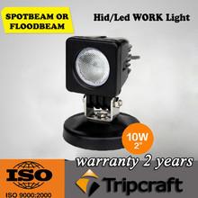 10W led work lamp Square spot Flood 12V LED worklight 10W