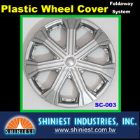 Special Design SC-003 14 inch High Quality Universal Plastic Wheel Cover for Cars with Low-Cost Made In Taiwan