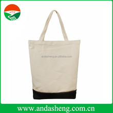 100% Garment Washed Recycled Cotton Canvas Tote Bag