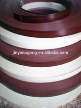 Se puede imprimir el logotipo monocromática muebles de madera maciza encolar cantos de PVC