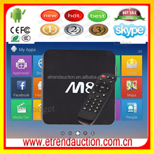 China Supplier For Digital TV Converter Set Top Box, Amlogic S802 Android 4.4 Set Top Box Support Google Play Apk Install