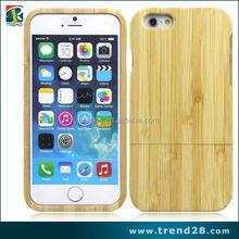 china wholesale wood bamboo mobile phone case for apple iphone 6, bamboo hard case for iphone