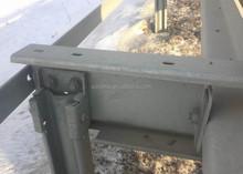 1.8m guardrail sigma post guardrail