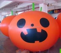 5ft/1.5m/6ft/2m inflatable helium pumpkin balloon/halloween helium balloon W123