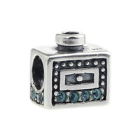 Wholesale Perfume Bottle Authentic 925 Sterling Silver Charm for European Bracelet