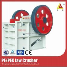 Large Capacity PE/PEX Series Jaw Crusher for Stone, Limestone, Concrete, Granite