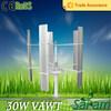 Rated 30W 12V 24V mini wind powered electric generator