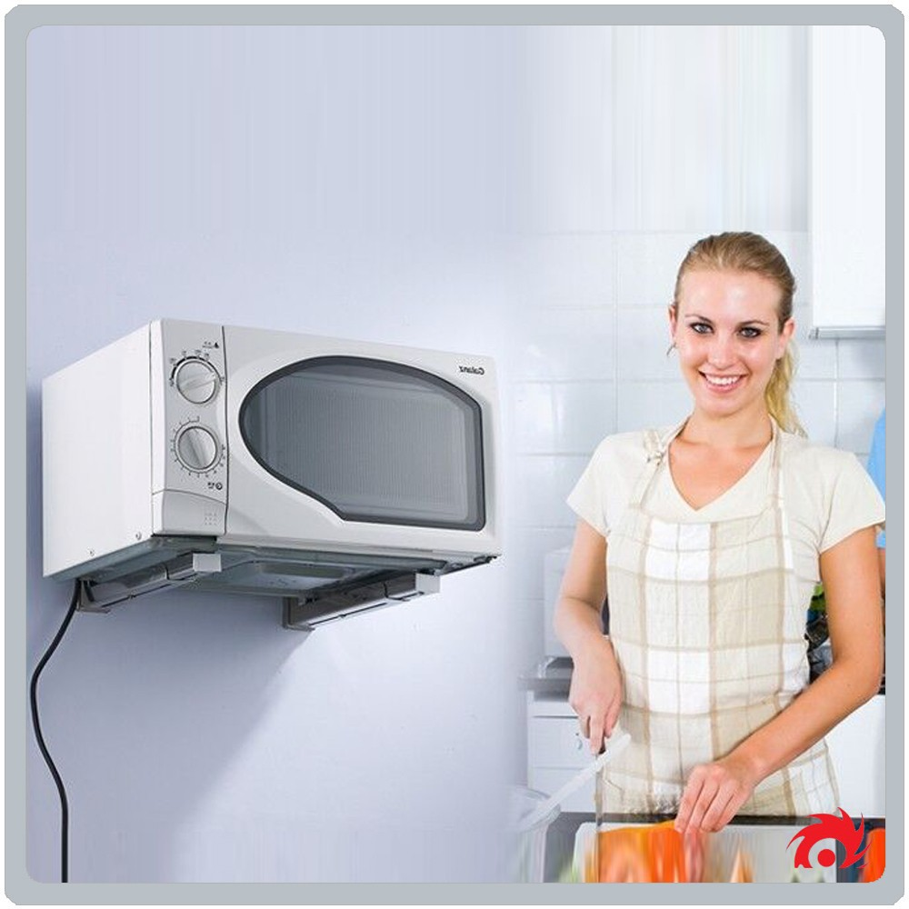 Oven Stand on Wall Microware Oven Stand Wall