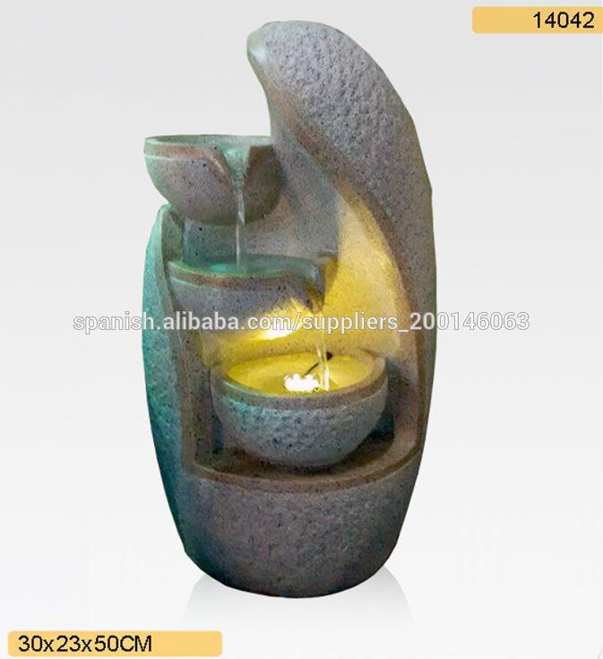 Interior fuente de agua para la decoraci n del hogar 14042 - Fuente decoracion interior ...