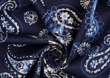 Rayon fabric with print ues for women's dress/2015 the latest style fabric design for women/
