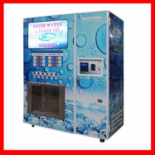 good quality easy coin operated outdoor ice vending machine for sale (140kg-900kg model)
