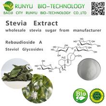 CAS 57817-89-7 stevia powder Rebaudioside A herbal extract type china stevia