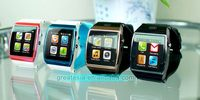 Low price best sell watch for mobile phone wrist watch