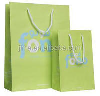 fono Luxury private logo promotional paper gift bag