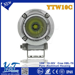 Y&T 2015 IP68 Spot flood beam Outdoor Intensity Various size motorcycle Off Road headlight for motorcycle with flood spot beam