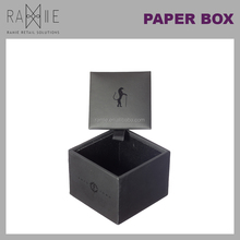 Ramie Hanger, Mannequin, Rack & Paper Products supplier: Finely Handcrafted Artificial Leather Cardboard Gift Box