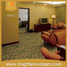 Comfortable moquette floral pattern guestroom Carpet