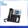 China supplier Grandstream GXP2130 v2 Enterprise 3-line HD IP Phone VoIP telephone