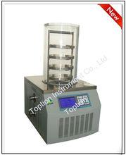 Laboratory vacuum freeze dryer dehydrator for fruit/food