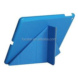 Silk pattern foldable flip leather tablet case for ipad mini 2