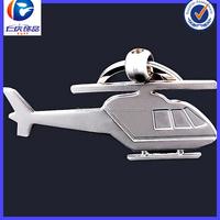 Fashion Charm jewelry high quality airplane keychain metal for promotion