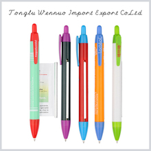Factory supply attractive price logo ad banner pen
