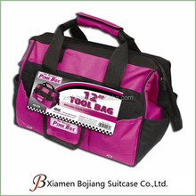 600D Polyester shoulder Tool Bag Zipper Top for pinchers