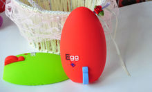 Egg shape of silicone cover case /bag /holder for iphone4/iphone5