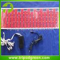 puro de color rojo intermitente activa de sonido ecualizador el etiqueta engomada del coche