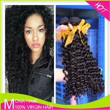 Specialized Human Virgin Hair, Brazilian Curly Hair Extension For Black Women