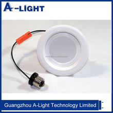 "Recessed Downlight 6"", 3000K, 1150 lm, 13W with white trim for damp/dry location with UL"